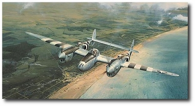 Doolittle's D-Day by Robert Taylor (P-38) Secondary