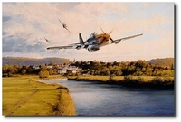 AVIATION ART HANGAR - Home Run by Robert Taylor (Secondary)