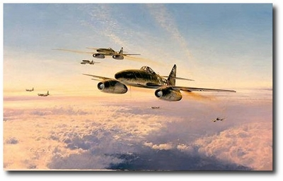 AVIATION ART HANGAR - Stormbirds Over the Reich by Robert Taylor
