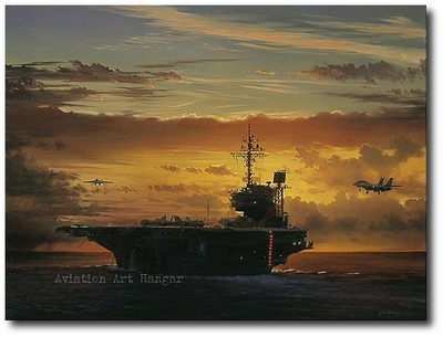 AVIATION ART HANGAR - Those Last Critical Moments by William S. Phillips (F-14 Tomcat)