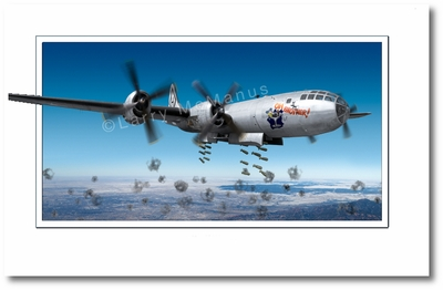 B-29 Superfortress by Larry McManus