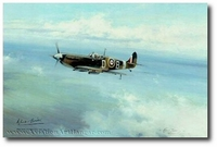 Bader Legend by Robert Taylor (Spitfire)