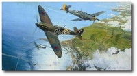 Battle for Britain by Robert Taylor (Spitfire)