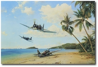 Beach Head Strike Force by Robert Taylor (F4U Corsair)