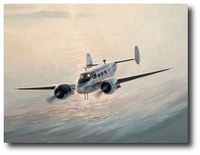 Beech 18 by Keith Ferris