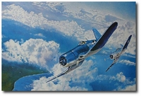 Black Sheep Sweep by Troy White (F4U Corsair)