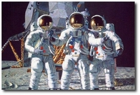 Conrad, Gordon and Bean: the Fantasy by Alan Bean (Apollo)