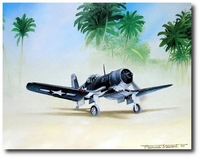 Corsair Preflight by Marc Stewart (F4U)