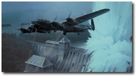 Dambusters - Breaching the Eder Dam by Robert Taylor (Lancaster)