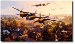 Dawn Chorus by Nicolas Trudgian (P-38 Lightning)