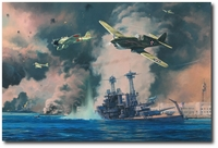 Day of Infamy by Anthony Saunders (P-40)
