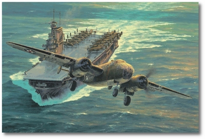 Destination Tokyo by Anthony Saunders (B-25 - Doolittle)