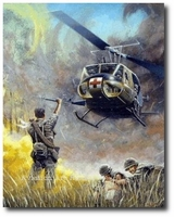 Dustoff by Joe Kline (UH-1 Huey)