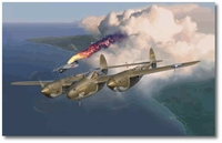 Early Victory by Jim Laurier (P-38 Lightning)