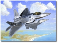 Emerald Coast Raptors by LtCol William Magee (F-22)