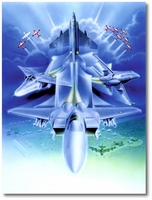 F-15 Front and Center by Cliff Kearns (Original)