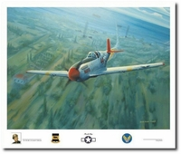 Farewell Margo by Darby Perrin (P-51 Mustang / Tuskegee)
