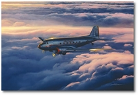 Fifty Years a Lady by Craig Kodera (Douglas DC-3)