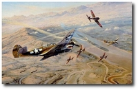 Fighting Tigers by Robert Taylor (P-40 Warhawk)