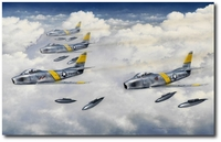 Firewalled for Intercept by Darrell White (F-86 Sabre)
