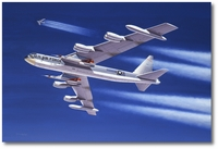 Fist Full of Throttles by Mike Machat (B-52D Stratofortress)