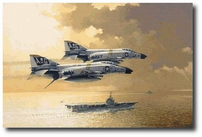 Flying the Jolly Roger by Robert Watts (F-4)