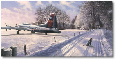 Fortress at Rest by Richard Taylor (B-17)