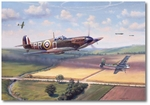 Fox Hunt by Jim Laurier (Spitfire)