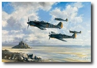 Guardians of the Atlantic Wall by John Young (FW-190)
