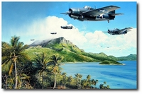 Holding the Tide - The Battle for Guadalcanal by Richard Taylor (F4F Wildcat)