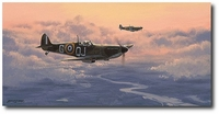 Home at Dusk by Philip West (Spitfire)