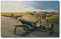 Hornchurch Scramble - The Hardest Days by Robert Taylor (Spitfire)