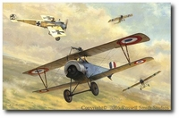 Hostile Sky by Russell Smith (Nieuport 16)
