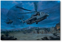 Hot Exfil by Bryan David Snuffer (MH-53D Pavelow)