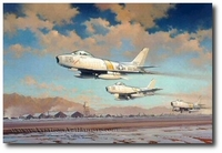 Hunting Party by Robert Watts (F-86)