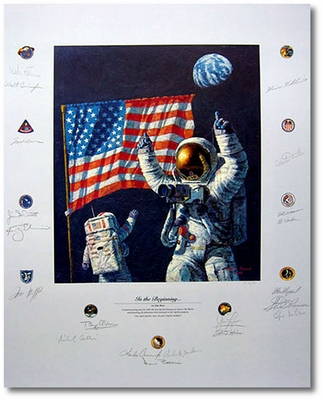 In the Beginning by Alan Bean (Apollo)