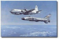 Incident Over The South China Sea, 4/2001 by Ronald Wong (EP-3E)