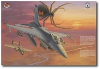 Iraqnophobia by Roy Grinnell (F-16 Fighting Falcon)