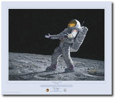 Is Anyone Out There? by Alan Bean (Apollo)