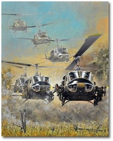 Kicking the Hornet's Nest by Joe Kline (UH-1 Huey)