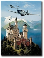 Kings of the Castle by Heinz Krebs (P-51 Mustang)