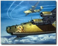 Leo by Roy Grinnell (B-24 Liberator)