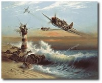 Lighthouse Louie by Heinz Krebs (P-40 Warhawk)