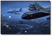 Linebacker II..... The High Road to Hanoi by Jack Fellows (B-52 Stratofortress)