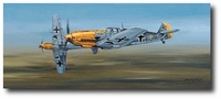 Looking for Trouble by Philip West (Bf-109)