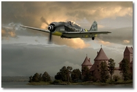 Luftwaffe Fw 190 A-8 by Ron Cole