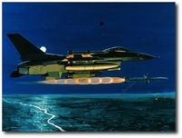 Magnum - Operation Allied Force by K. Price Randel (F-16 Falcon)