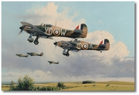 Maple Leaf Scramble by Robert Taylor (Hurricane)