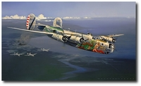 Milk Run to Kyushu by Jack Fellows (B-24 Liberator)