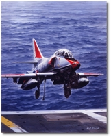 Moment of Truth by R.G. Smith (TA-4J Skyhawk)